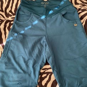 Ergo Teal Scrub Pants